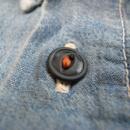 KATO/AAA(カトー/トリプルエー)シャンブレーワークシャツ/猫目ボタン