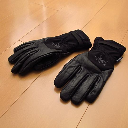 ARC'TERYX(アークテリクス)Stinger Glove(スティンガーグローブ)甲