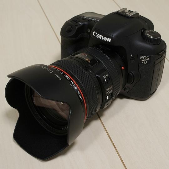 CANON(キヤノン)ズームレンズEF24-105mm F4L IS USM