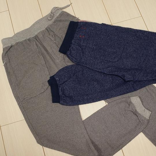 CASH CA(カシュカ)EASY PILE PANTS(イージーパイルパンツツ)