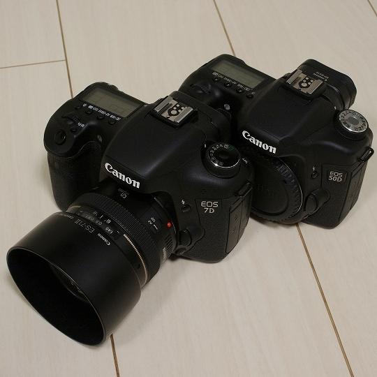 CANON(キヤノン)デジタル一眼レフカメラEOS7Dと50D