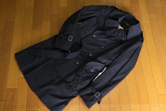 GEKKO(ゲッコー)トレンチコートCT71-1112ブラック