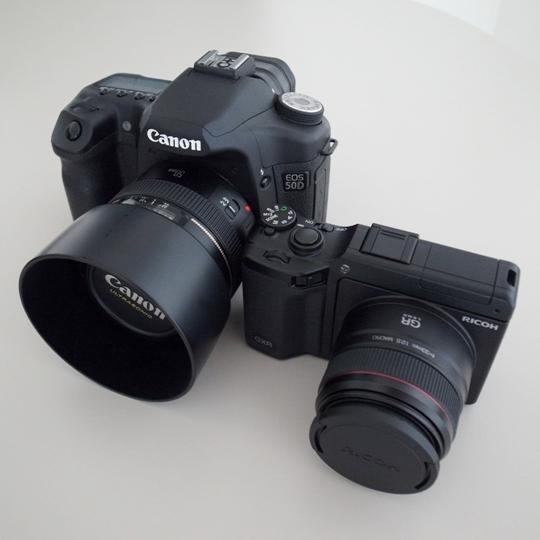 GXR/GR LENS A12 50mm F2.5MACRO×EOS50D
