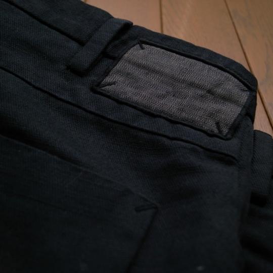 INCOTEX(インコテックス)5ポケット・コットンヘンプ・パンツ/素材
