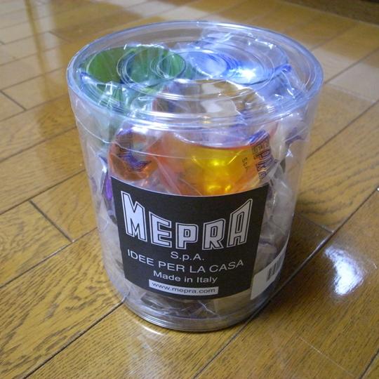 MEPRA(メプラ)UNOエスプレッソカップ&ソーサーセット/パッケージ