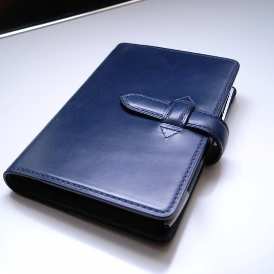 niwa leathers(ニワレザー)オーダー・ミニ6穴システム手帳