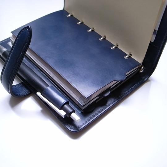 niwa leathers(ニワレザー)オーダー・ミニ6穴システム手帳/インデックス