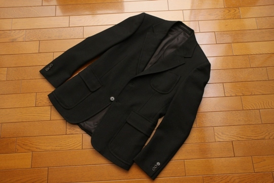 SCYE BASICS(サイ・ベーシックス)メリノランブイエ2Bジャケット