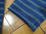 SAINT JAMES(セント・ジェームス)ボーダーバスクシャツ/袖口