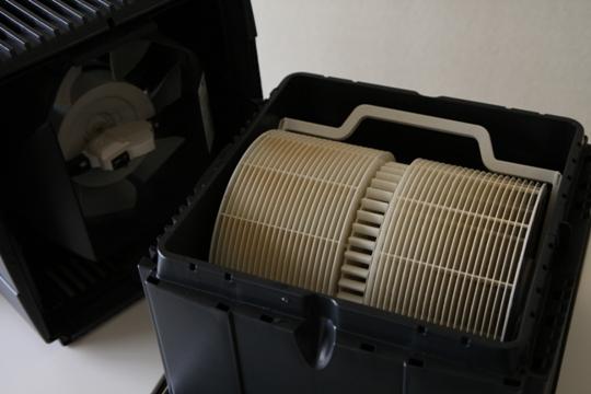 VENTA(ベンタ)空気清浄器付き気化式加湿器LW24N内部