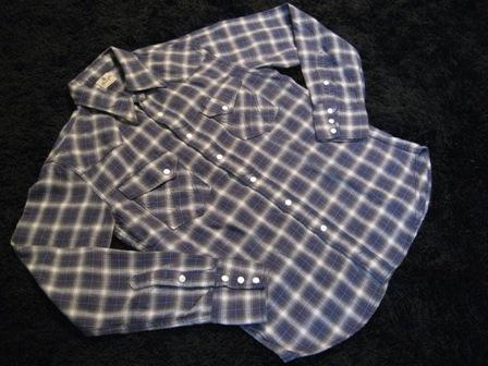 Wrangler(ラングラー)×BEAMS+(ビームスプラス)のウェスタン・ネルシャツ