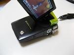 デジタルムービーカメラXacti(ザクティ)液晶