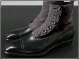 大塚製靴のButton-up Boots
