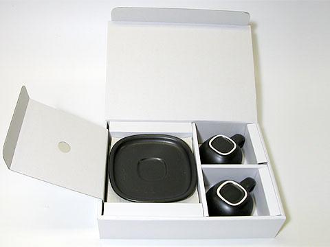 柳宗理デザインのコーヒーカップ&ソーサー2個セット