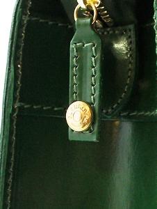 GLENROYAL(グレンロイヤル)のブライドルハイド・ブリーフケース/新色グリーン