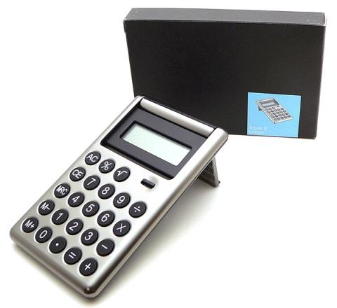 TROIKA(トロイカ)の電卓「MOVE IT」/パッケージ