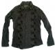 AYUITE(アユイテ)のフラワー刺繍シャツ/黒