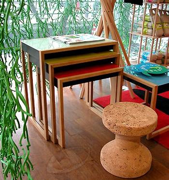 VITRA(ヴィトラ)ネスティング・テーブル/使用例
