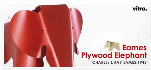 Eames Plywood Elephant(イームズ・プライウッド・エレファント)限定予約受付開始