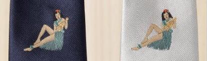 Robert Godley(ロバート・ゴドリー)ジャカード・ネクタイの刺繍