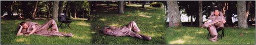 寝袋movsleepin(モブスリーピン)使用例