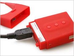 MP3プレーヤーasono mica(アソノ ミカ)充電&PC接続