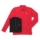 M's Braque(エムズブラック)長袖ポロシャツ