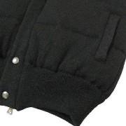 ROBERTO COLLINA(ロベルト・コリーナ)ウールキルティングベスト/リブ裾