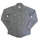POST OVERRALLS(ポストオーバーオールズ)シャンブレーワークシャツ