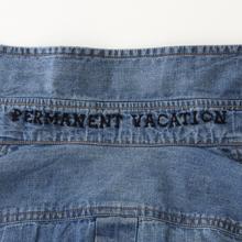 PERMANENT VACATION(パーマネント・ヴァケーション)デニムシャツ/襟裏ロゴ刺繍