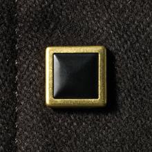 GEKKO(ゲッコー)ギザ45フランネル・シャツジャケット/ボタン