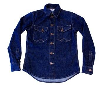Wrangler PREMIUM LINE(ラングラープレミアムライン)デニムシャツジャケット