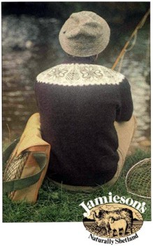 JAMIESON'S(ジェミーソンズ)ヨークフェアアイルセーター/カタログ