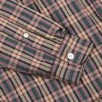 Steven Alan(スティーブン・アラン)の中綿入りチェックシャツ