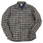 Steven Alan(スティーブン・アラン)中綿入りチェックシャツ