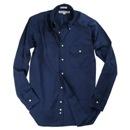 INDIVIDUALIZED SHIRTS(インディビジュアライズドシャツ)ロッカールームBDシャツ/ネイビー