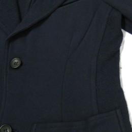 ROBERTO COLLINA(ロベルト・コリーナ)スウェット・テーラードジャケット/サイド切り替え部分