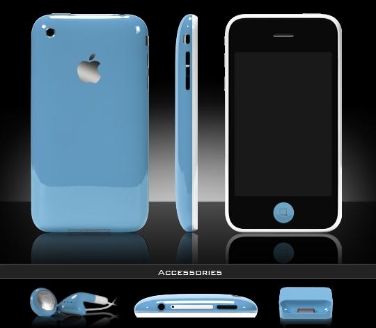 ColorWare(カラーウェア)でiPhone3Gを好きな色にペイント
