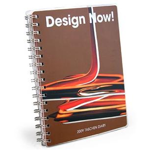 TASCHEN(タッシェン)2009年ダイアリー「Design Now!」表紙