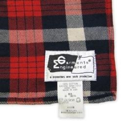 Engineered Garments(エンジニアード・ガーメンツ)ツイルスカーフ/タグ