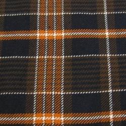 Engineered Garments(エンジニアード・ガーメンツ)ツイルスカーフ/ネイビー×オレンジ