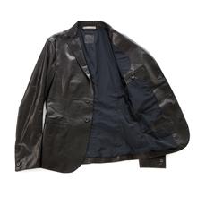 SANTACROCE(サンタクローチェ)ホースレザー・テーラードジャケット/裏地