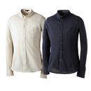 GEKKO(ゲッコー)ギザ45鹿の子ボタンダウンシャツ