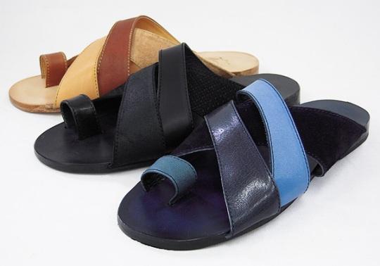 Rhythm Footwear(リズムフットウェア)レザーサンダルPITTA(ピッタ)/カラバリ