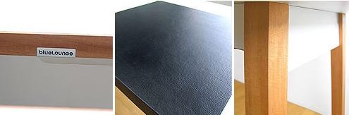 blueLounge(ブルーラウンジ)PCデスク「Studio Desk」合皮マット