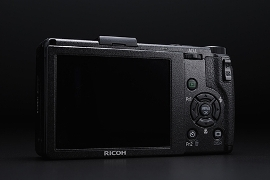 RICOH(リコー)デジタルカメラGR DigitalⅢ背面液晶